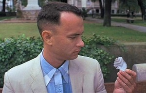 """""""I may not be a smart man, but I know what love is."""" Being present for Jenny made Gump irresistible."""